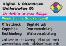 Digital- und Offsetdruck Wolfertstetter KG